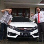 Foto Penyerahan Unit 10 Sales Mobil Dealer Honda Jogja Gatot