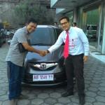 Foto Penyerahan Unit 4 Sales Mobil Dealer Honda Jogja Gatot