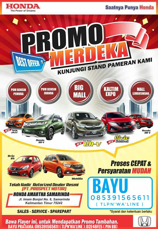 Promo Honda By Bayu