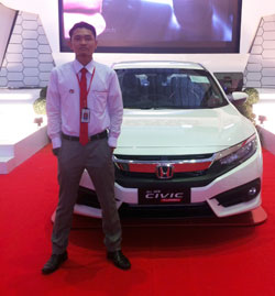 sales-marketing-mobil-dealer-honda-banjarmasin-arief