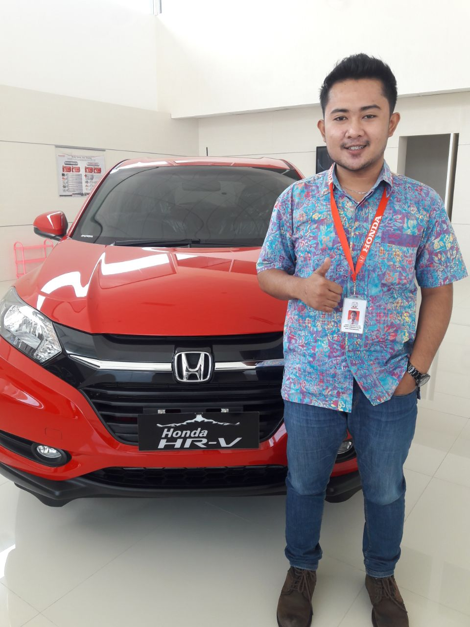 Sales Marketing Mobil Honda Ageng