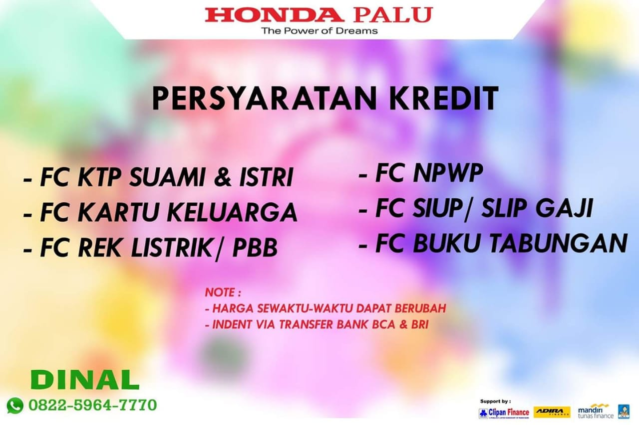 DO Sales Marekting Mobil Dealer Honda Dinal (1)