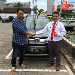 Sales Marketing Mobil Dealer Honda Banjarbaru Haris