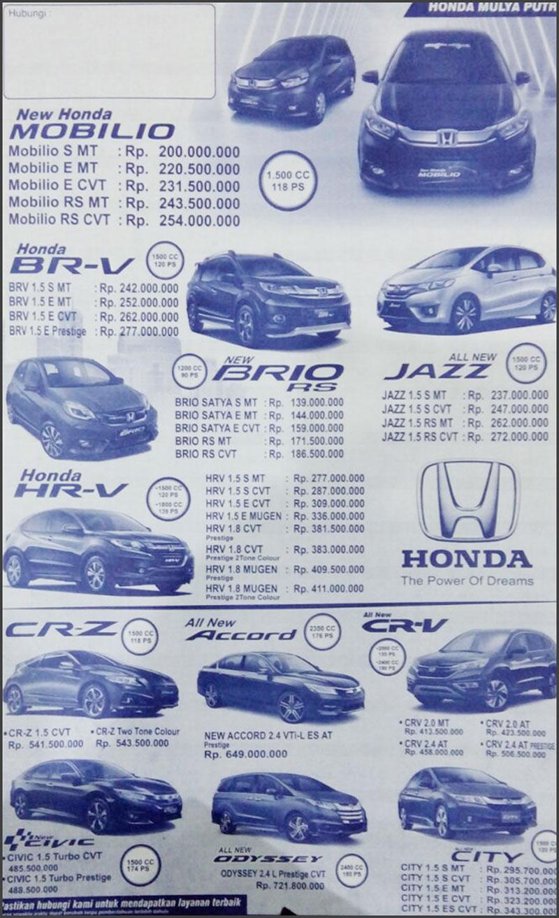 Honda Mobil Honda By Abdul