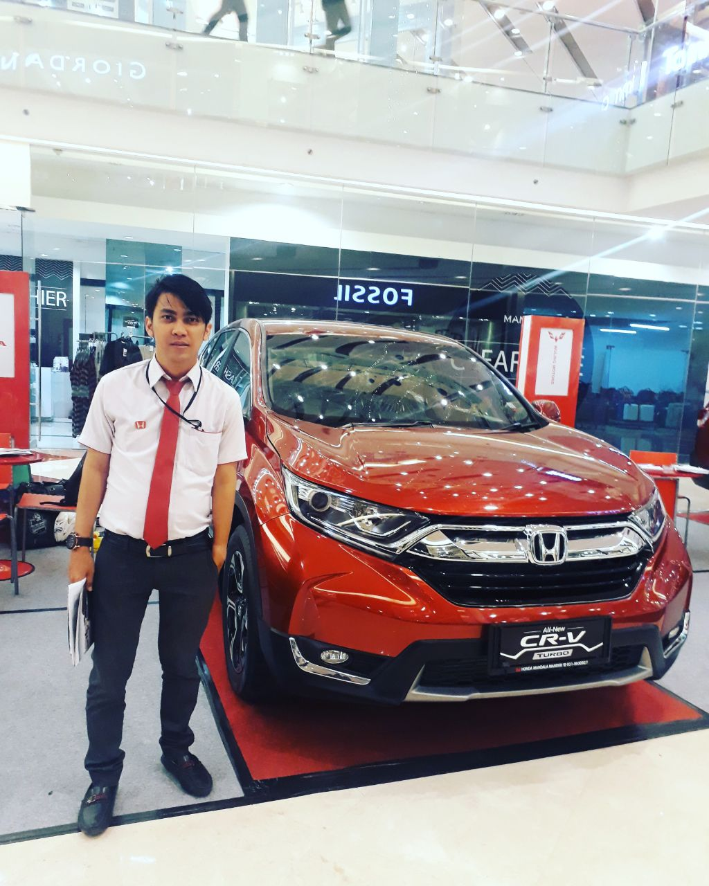 Sales Marketing Mobil Dealer Honda Trimas