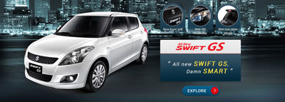 16. Suzuki Swift GS