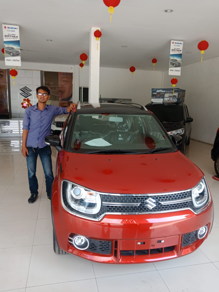 Sales Marketing Mobil Dealer Suzuki Ricky